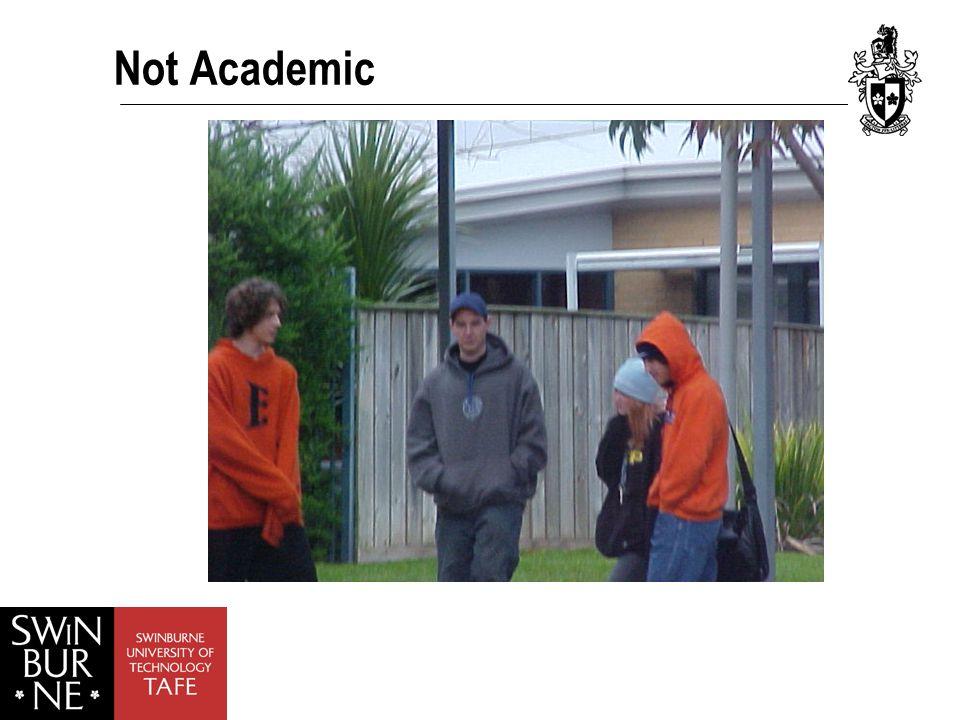 Not Academic