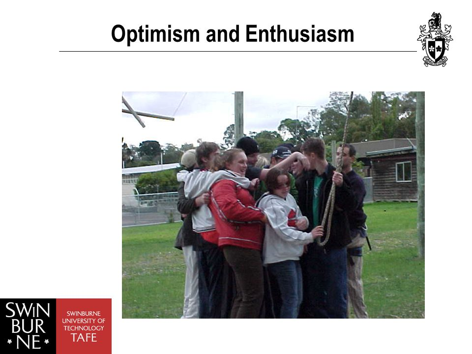 Optimism and Enthusiasm