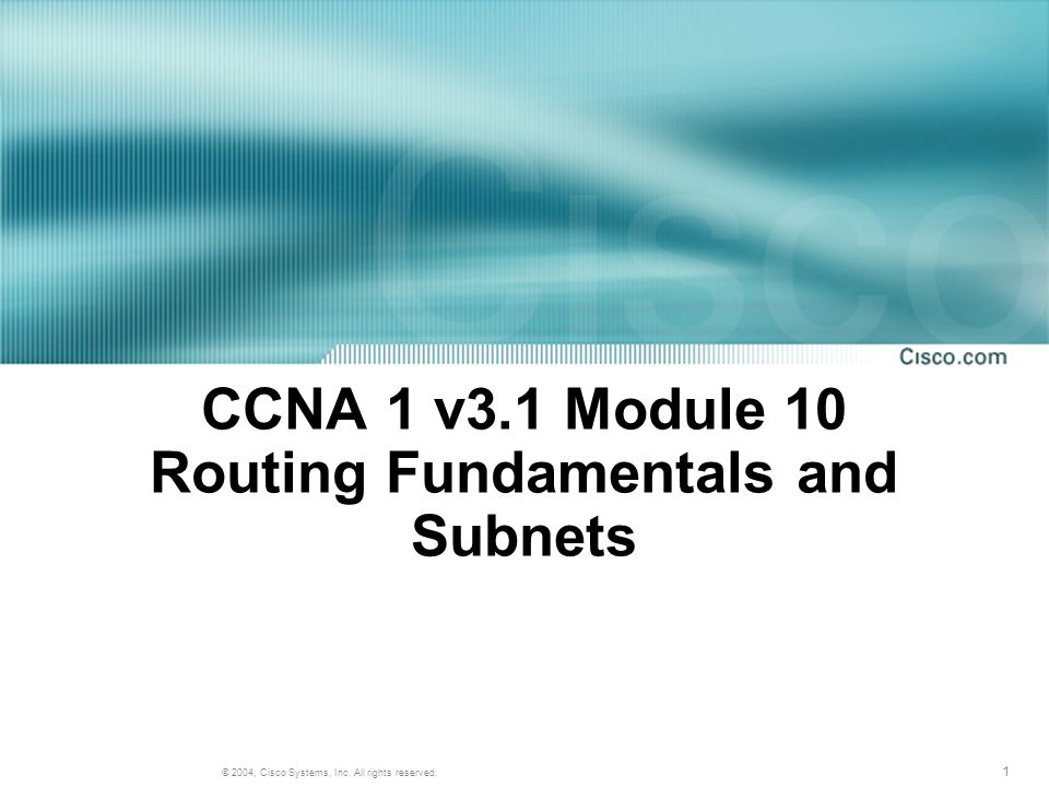 22 © 2004, Cisco Systems, Inc. All rights reserved. Router and Switch Features Comparison