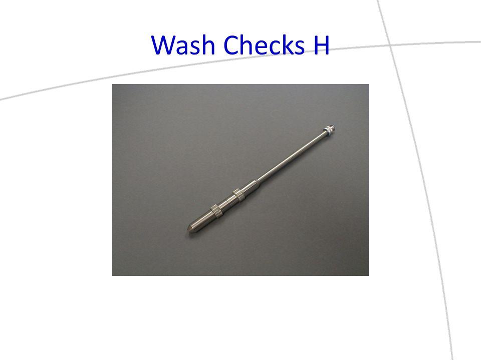 Wash Checks H