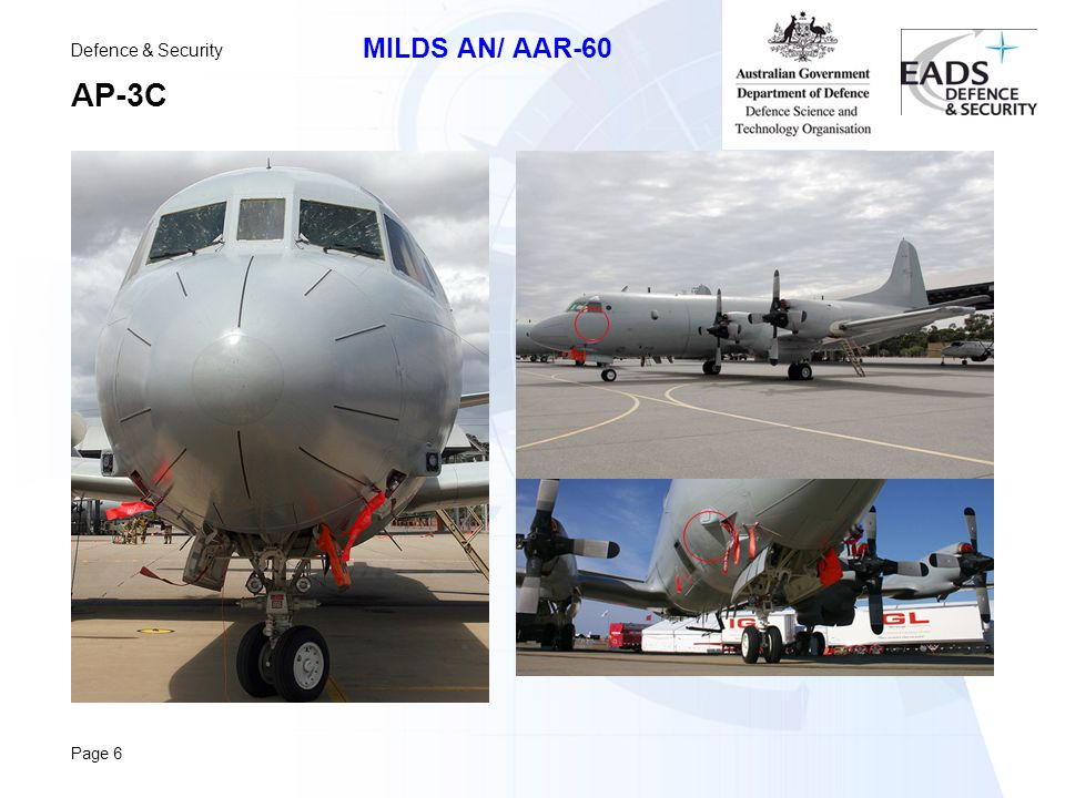 Defence & Security MILDS AN/ AAR-60 Page 6 AP-3C