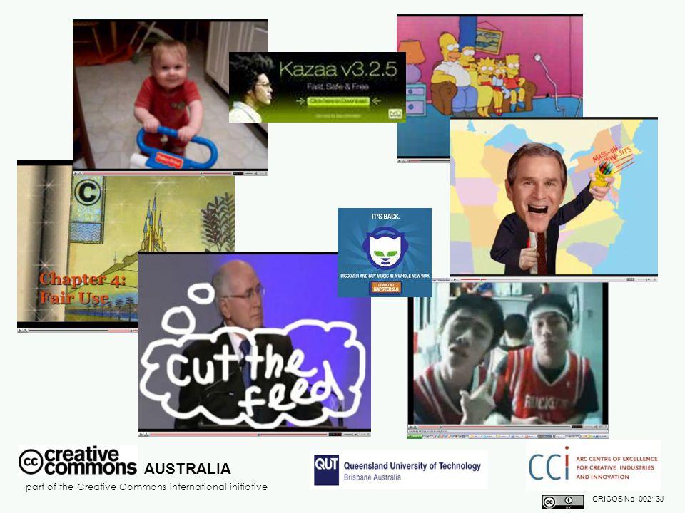AUSTRALIA part of the Creative Commons international initiative CRICOS No.