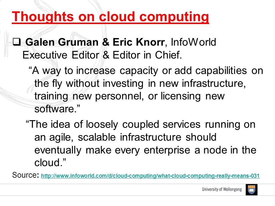  Galen Gruman & Eric Knorr, InfoWorld Executive Editor & Editor in Chief.
