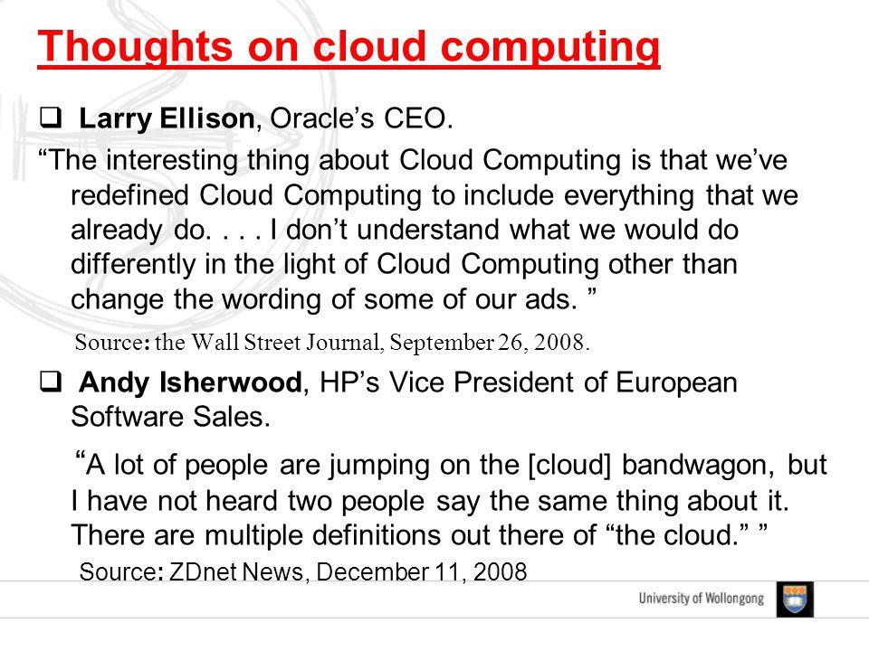  Larry Ellison, Oracle's CEO.