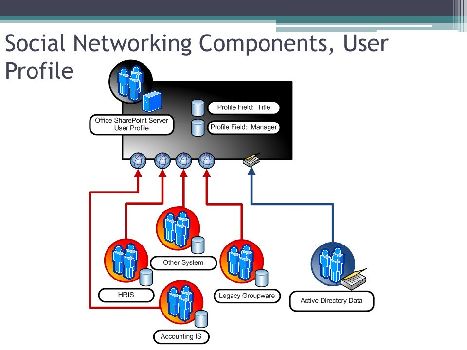 Social Networking Components, User Profile