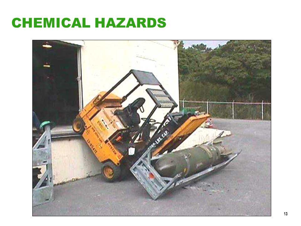 13 CHEMICAL HAZARDS