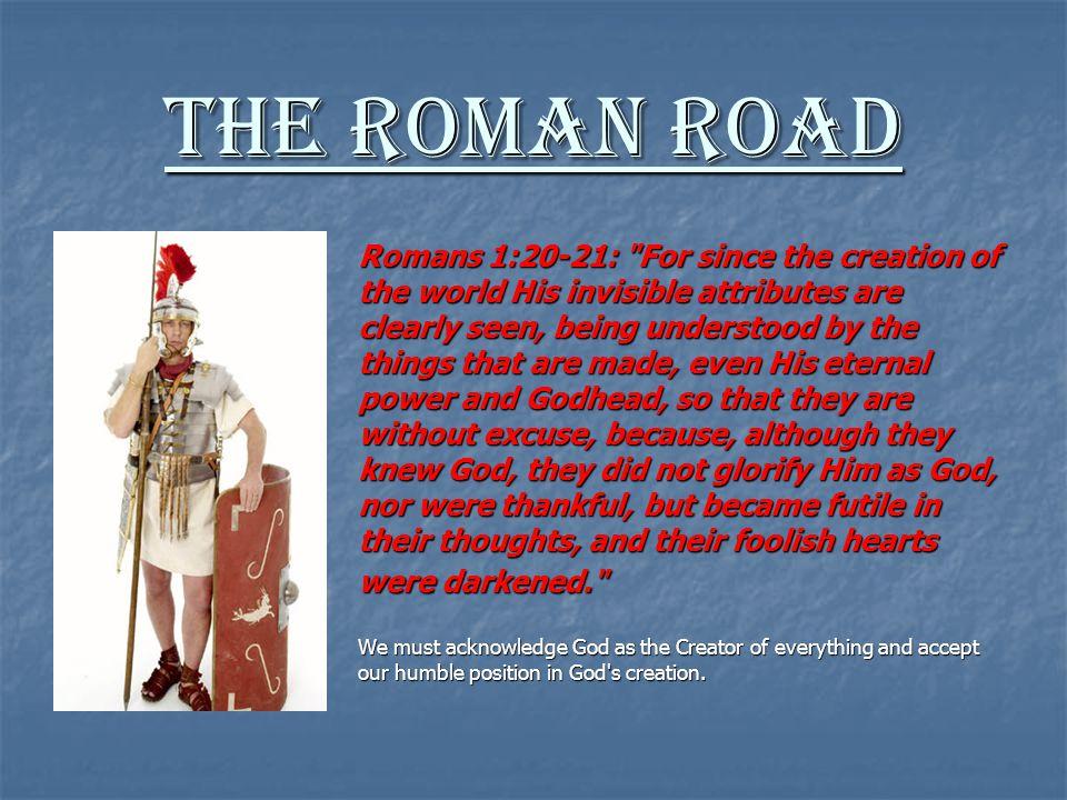 Let us Examine The Roman Road