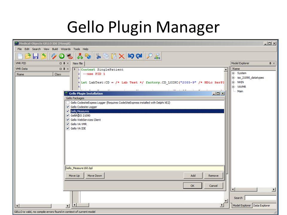 Gello Measure Plugin – Base SI units and unit conversions