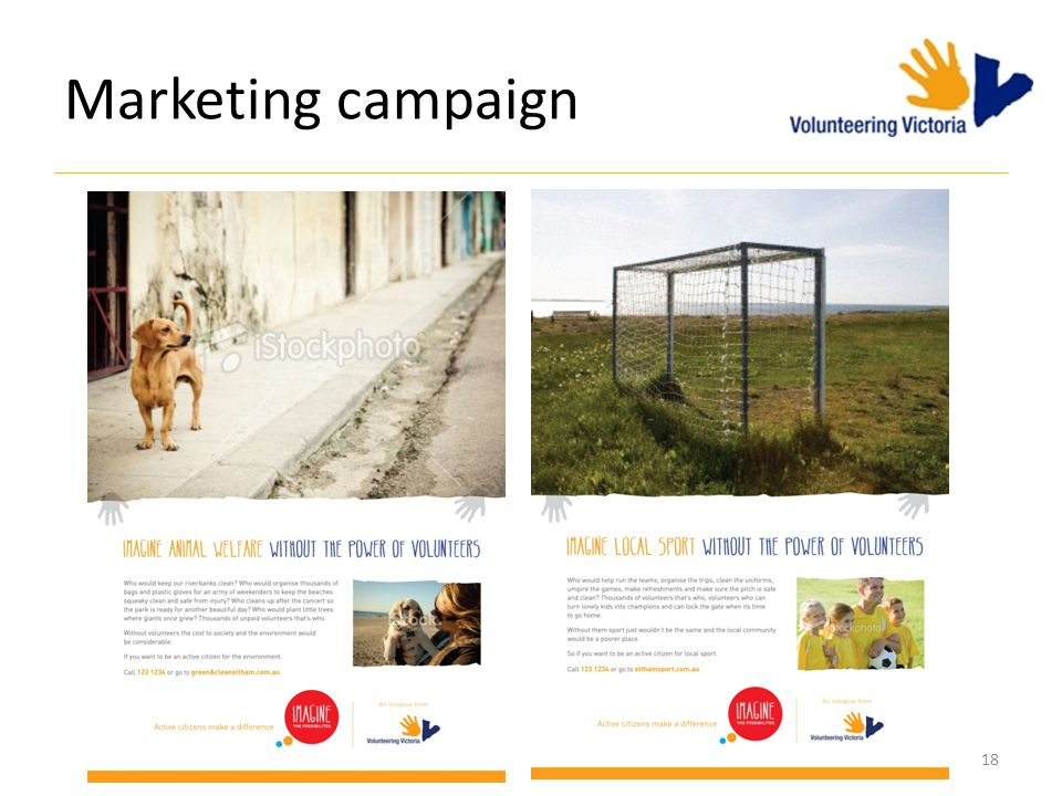Marketing campaign 18