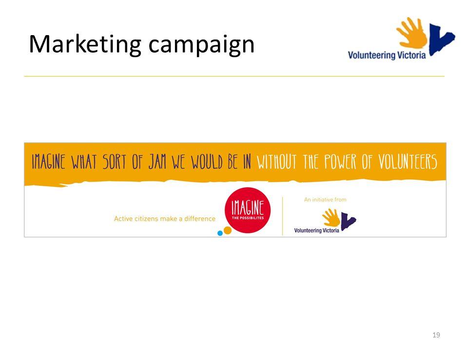 Marketing campaign 19