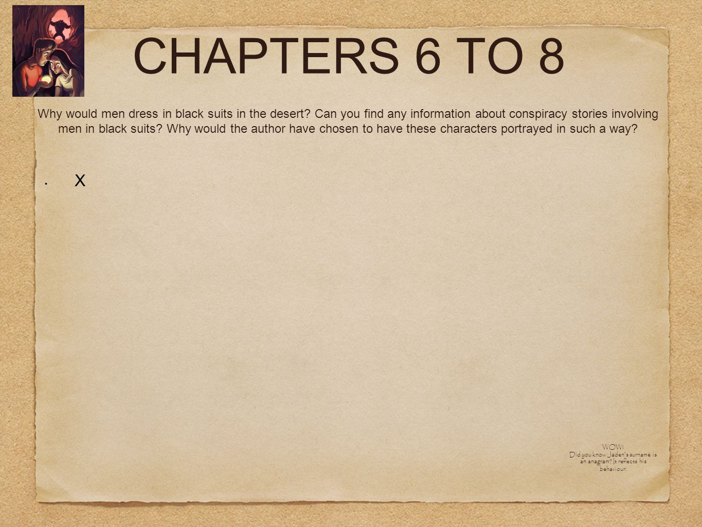 CHAPTERS 6 TO 8 X RESEARCH: How can a werewolf roam during the day.