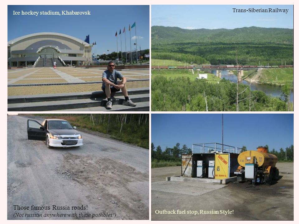 Subject: Lake Baikal and Irkutsk (12 August 2009) The road condition lived up to our expectation...