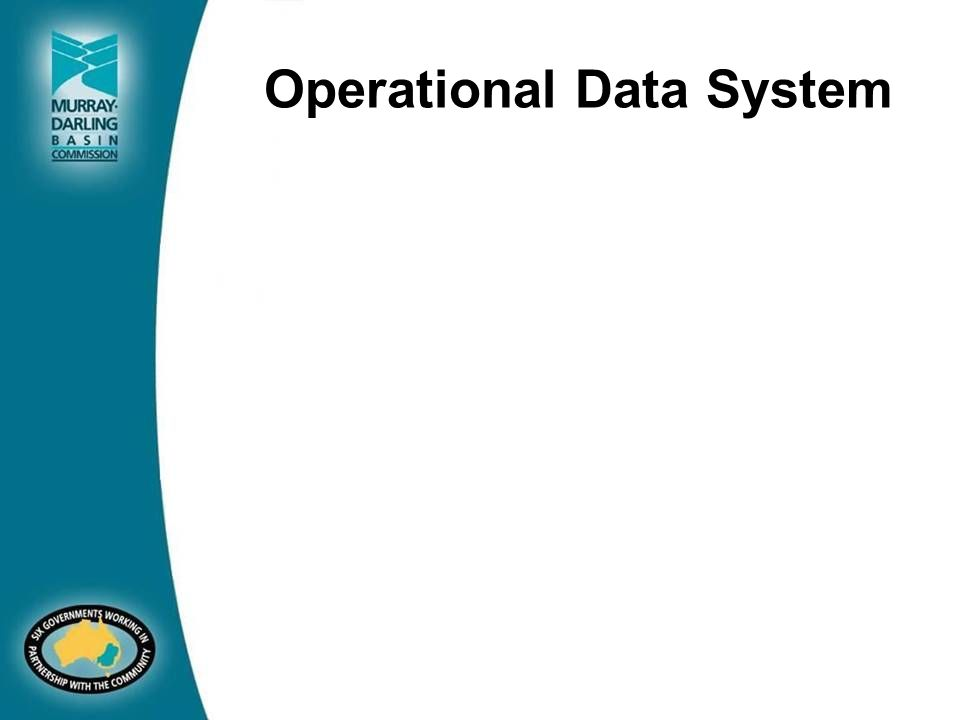 Operational Data System