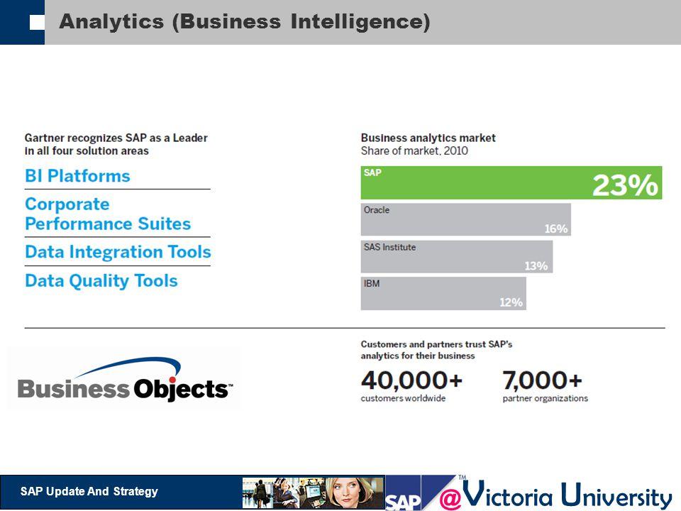 @ V ictoria U niversity SAP Update And Strategy Analytics (Business Intelligence)