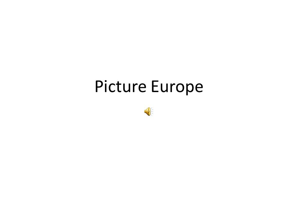 Picture Europe