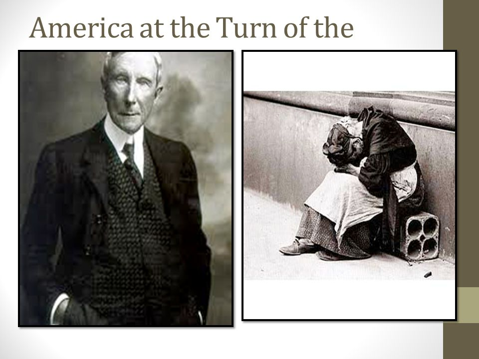 America at the Turn of the Century