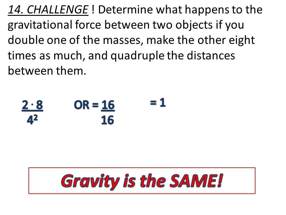 14. CHALLENGE .