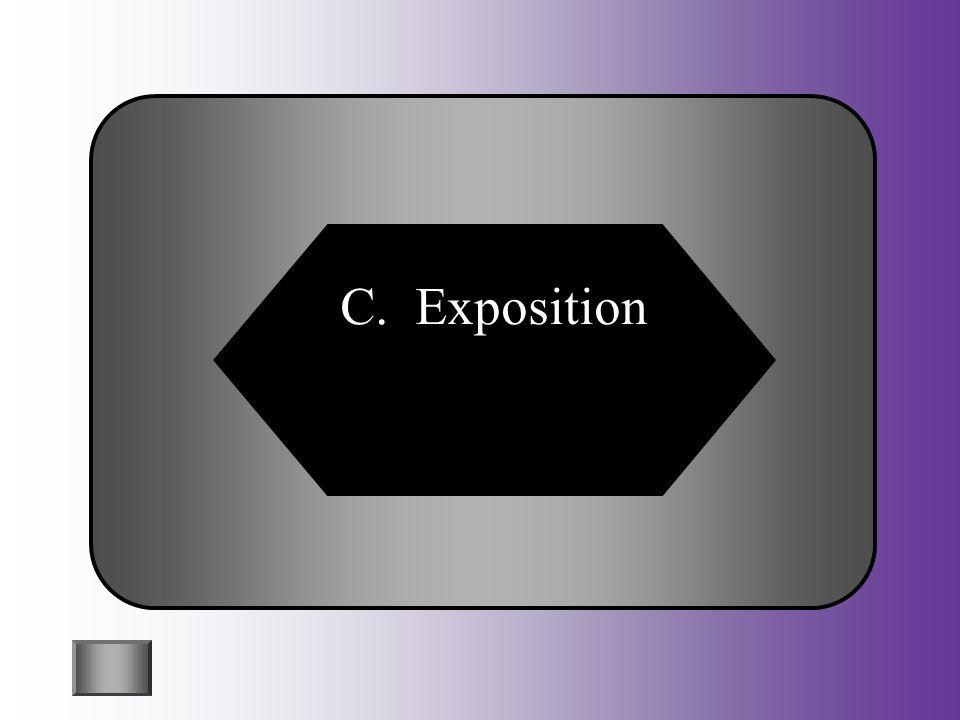C. Exposition