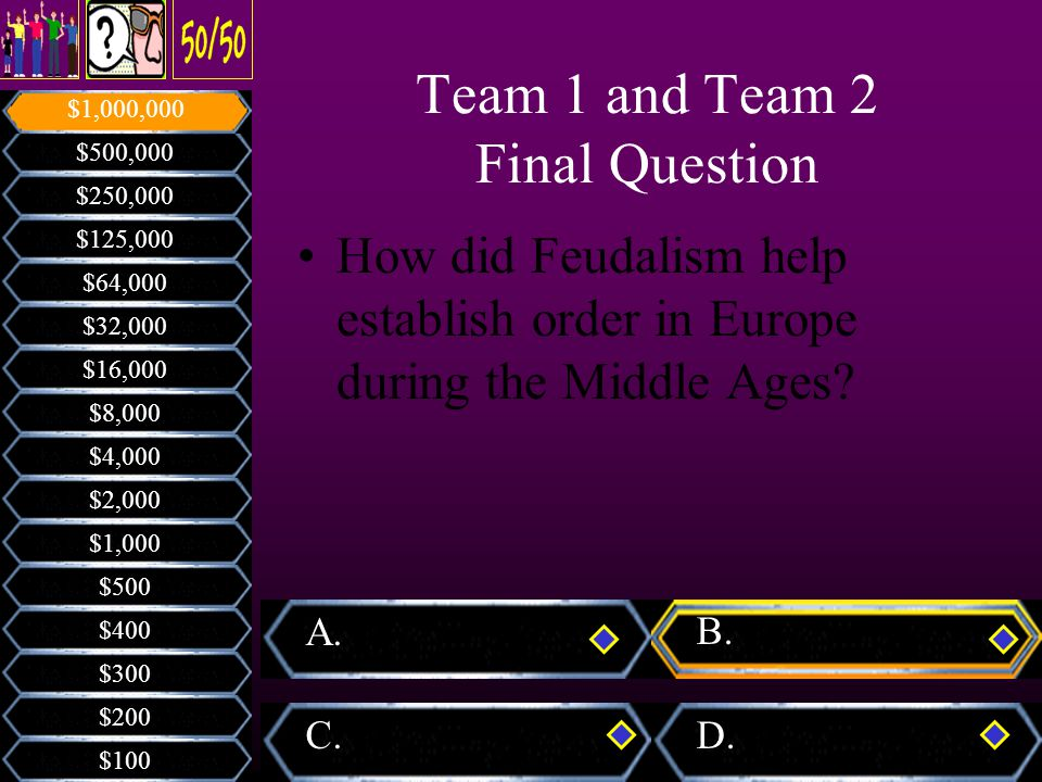 How did Feudalism help establish order in Europe during the Middle Ages.