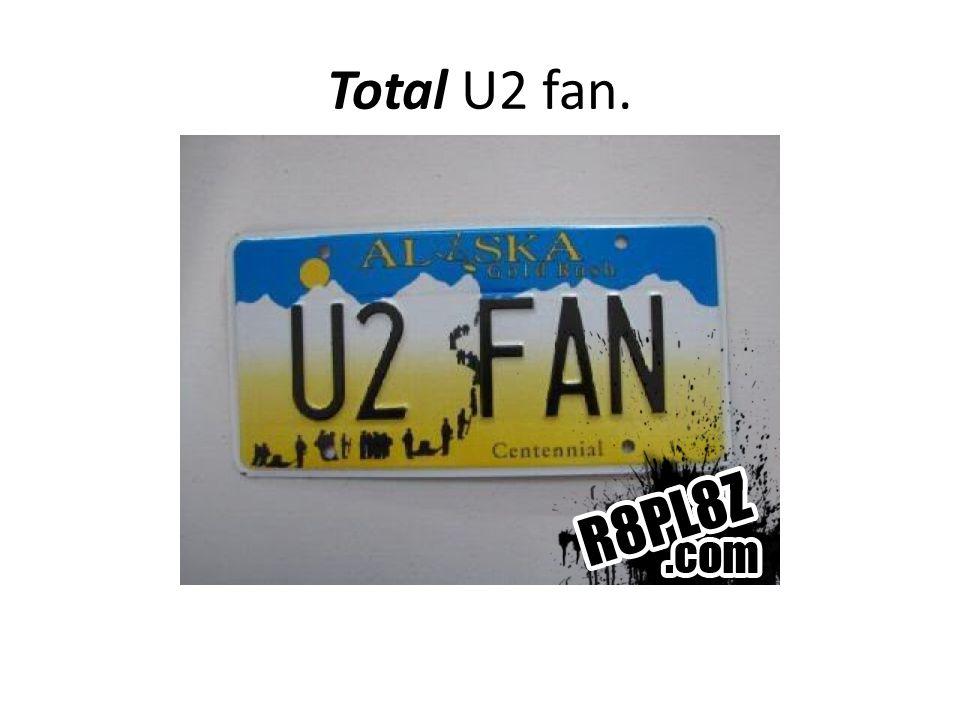 Total U2 fan.