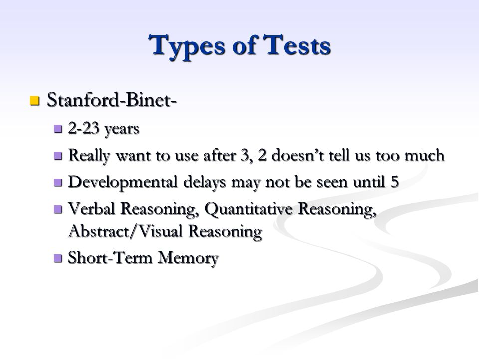 Concepts in psychological testing Why are tests standardized.