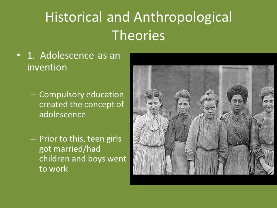 Historical and Anthropological Theories 1.