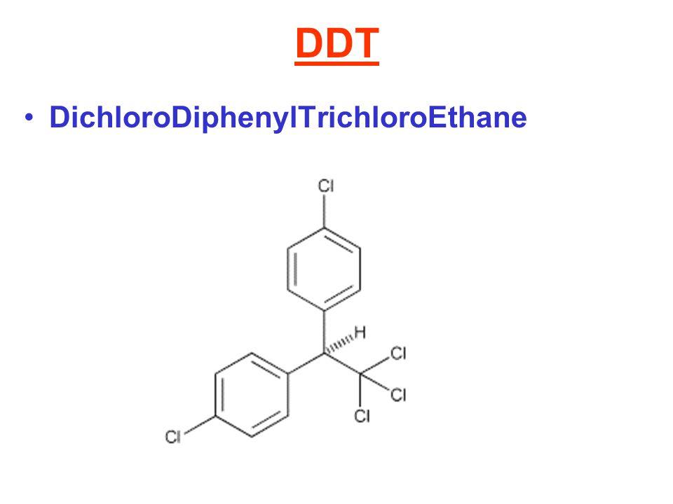 DDT DichloroDiphenylTrichloroEthane