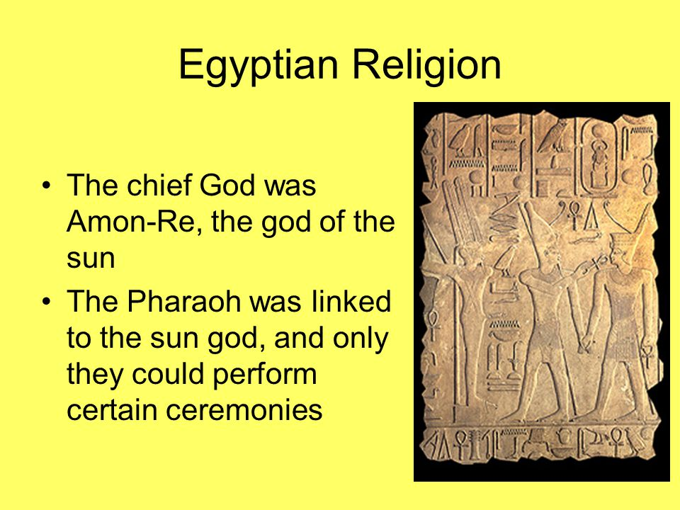 Religious Rebellion A young pharaoh devoted himself to the god Aton Akhenaton and his wife Nefertiti forced out all other gods People feared change, and after his death worshiped all gods