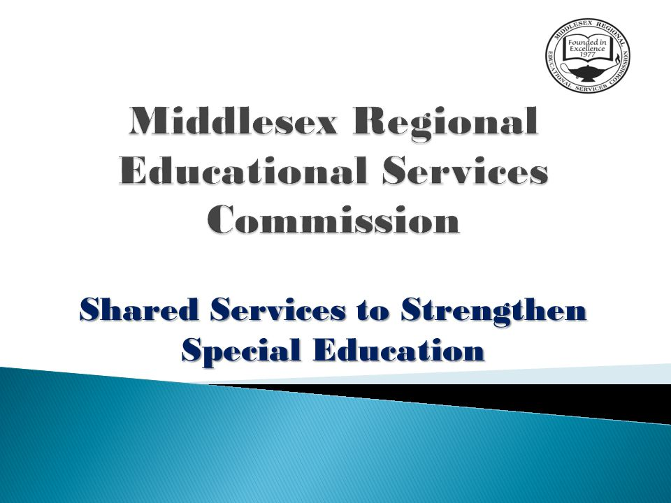 Shared Services to Strengthen Special Education