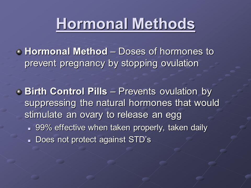 IUD Hormonal Release progestinRelease progestin Thicken cervical mucus, endometrium does not grow, reduces menstrual bleeding.Thicken cervical mucus, endometrium does not grow, reduces menstrual bleeding.