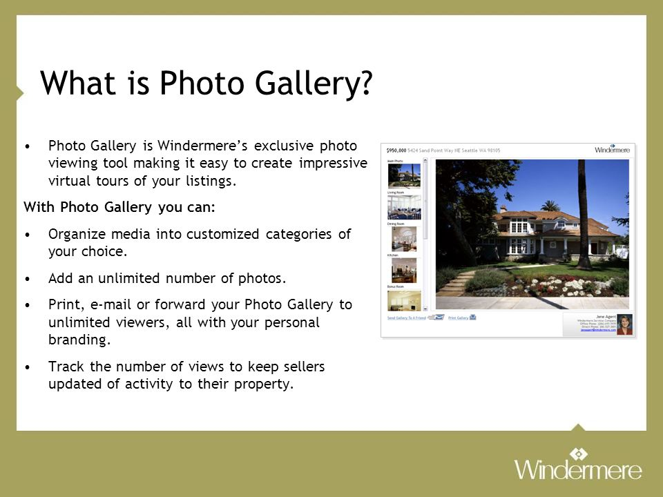 What is Photo Gallery.