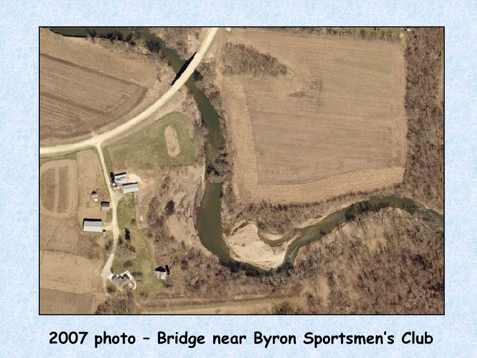 2007 photo – Bridge near Byron Sportsmen's Club