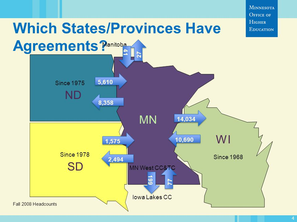 4 Which States/Provinces Have Agreements?