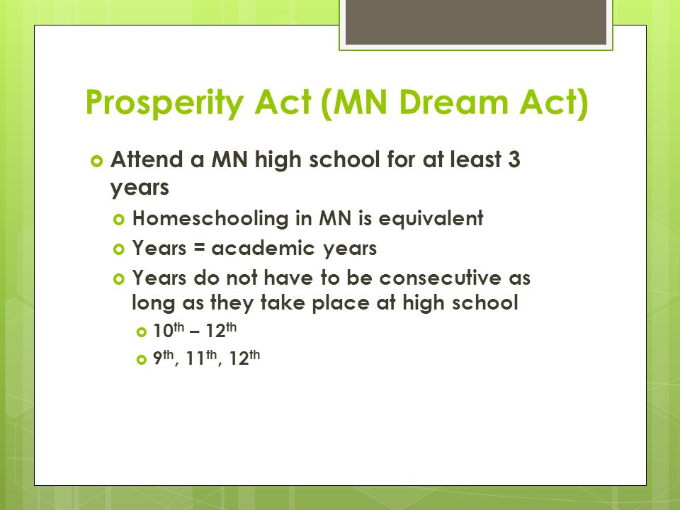 Online State Financial Aid Application  Link to online state financial aid application will be posted on:  www.ohe.state.mn.us/MNDreamAct www.ohe.state.mn.us/MNDreamAct  Two versions of online state application  MN Dream Act – State Financial Aid and U of M In-State Tuition  MN Dream Act – Univ of MN In-State Tuition Only  U of M students who don't want to apply for state financial aid should use MN Dream Act – In-State Tuition Only application  Otherwise, use application for both state financial aid and in-state tuition rates  This includes both MnSCU and U of M students applying for state financial aid and in-state tuition