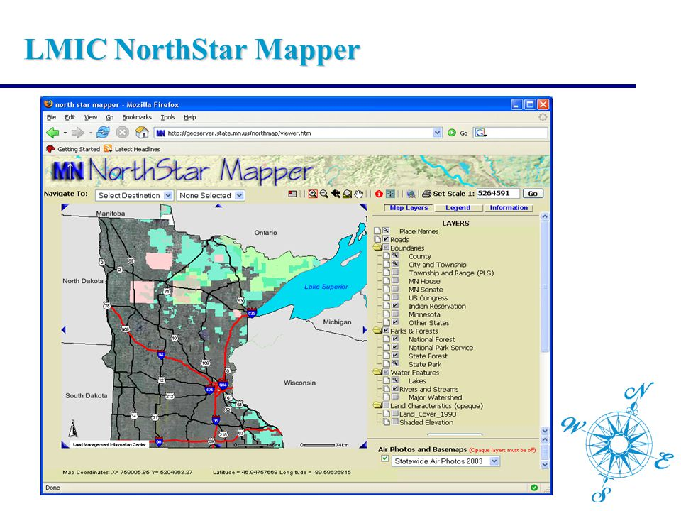 LMIC NorthStar Mapper