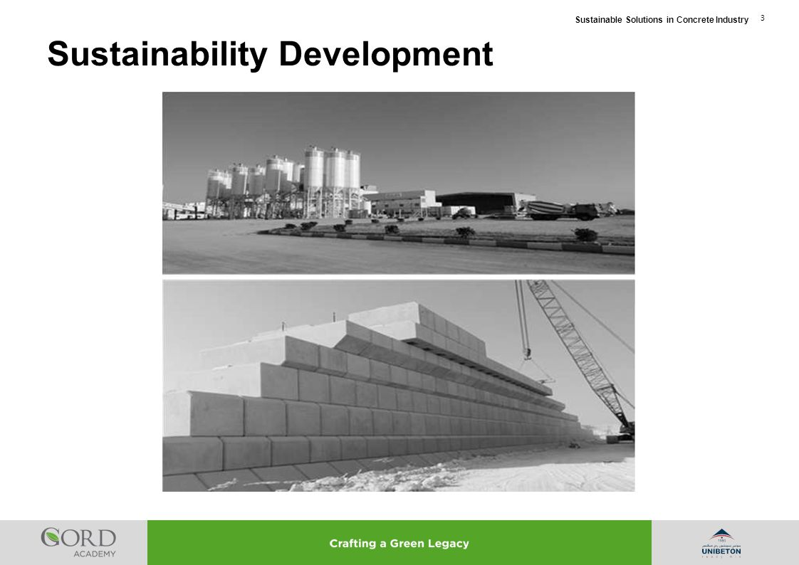 Sustainable Solutions in Concrete Industry 4 Sustainability Development