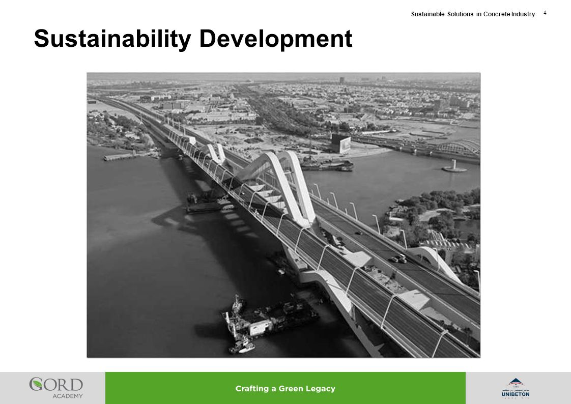 Sustainable Solutions in Concrete Industry 5 Sustainability Development