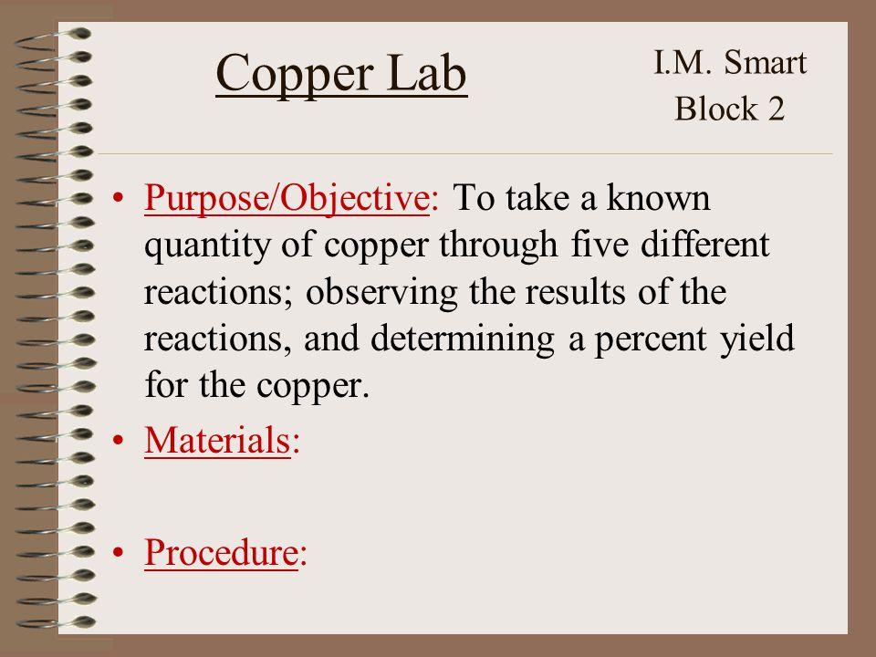 Copper Lab I.M.