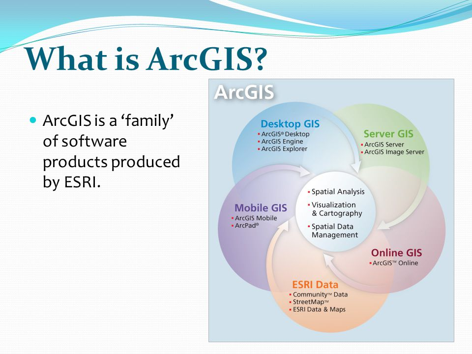 Exploring Your Data  ArcGIS doesn't have Active Themes  Tool result windows control what information shows  E.g.