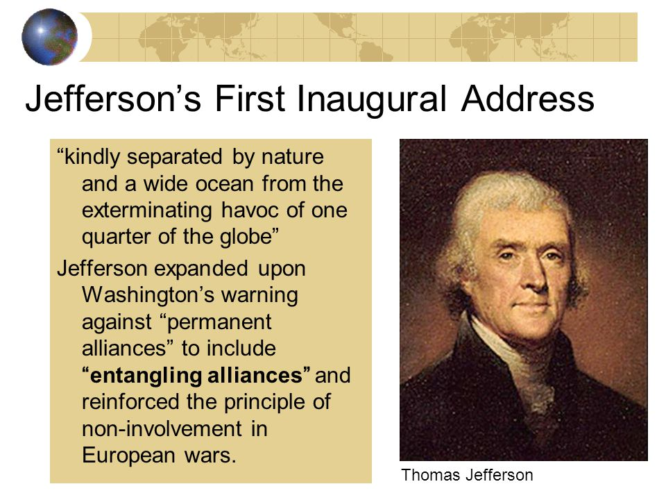 YOUR VIEW: In 1796, would you have agreed with Washington? Why or why not? 1. Completely disagree 2. Mostly disagree 3. Mostly agree 4. Completely agr