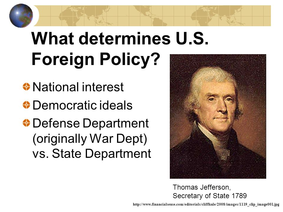 What is Foreign Policy.