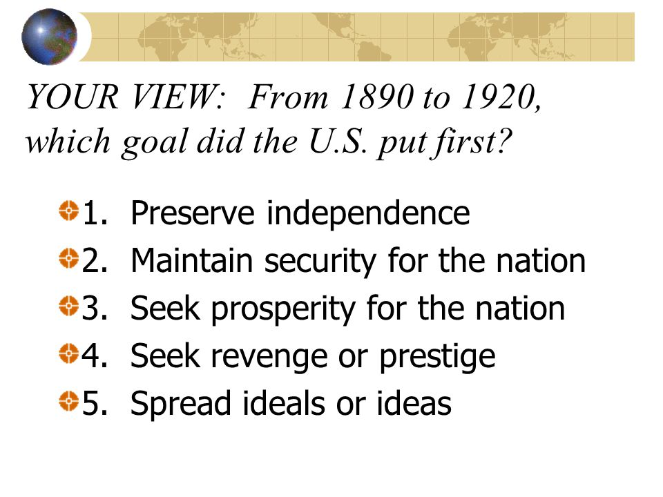 Wilson's 14 Points & Versailles Treaty & the Lessons of War 14 Points largely disregarded Fight for Ratification of the Treaty Henry Cabot Lodge and American Isolationists prevail-reject League of Nations US returns to its isolationist position vis a vis Europe Lessons of WWI, Red Scare & Peace Movement