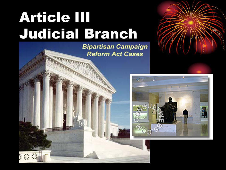 Article III Judicial Branch