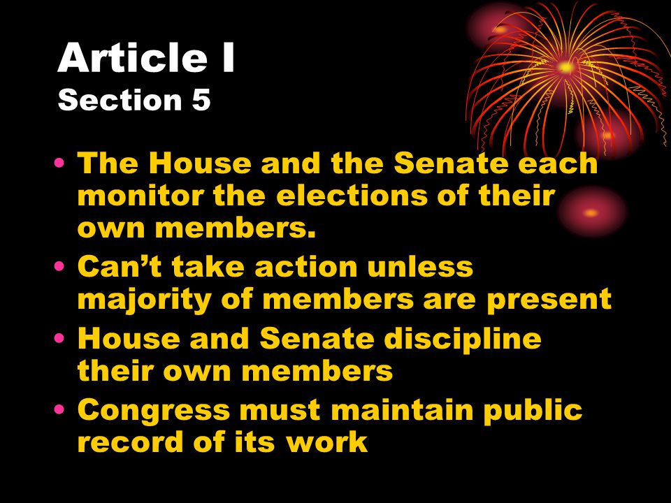 Article II Section 3 The president must periodically issue a State of the Union statement: Speech delivered in person President explains the condition of the country and offers legislative suggestions.