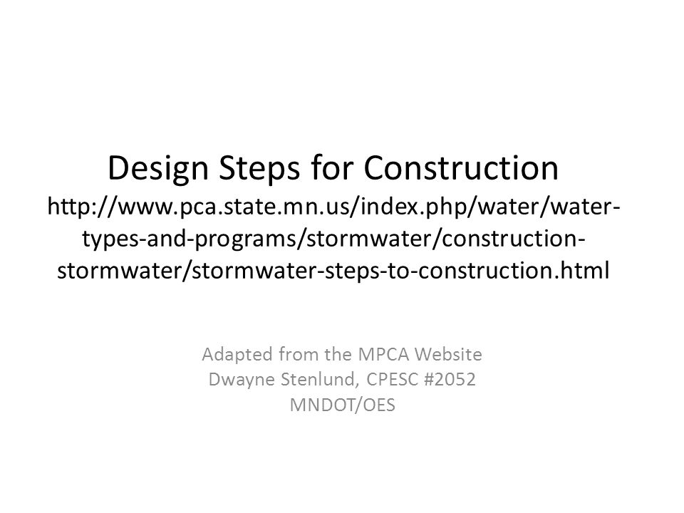 SWPPP Definition Storm Water Pollution Prevention Plan (SWPPP) means a plan for stormwater discharge that includes all required content under Part III of this Permit and which describes the erosion prevention BMPs, sediment control BMPs and Permanent Stormwater Management Systems that, when implemented, will decrease soil erosion on a parcel of land and decrease off‐site nonpoint pollution.