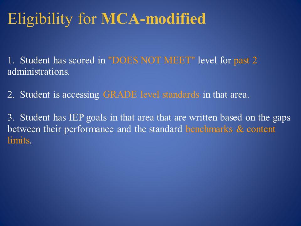 Steps for STANDARDS-based IEP Goals 1.