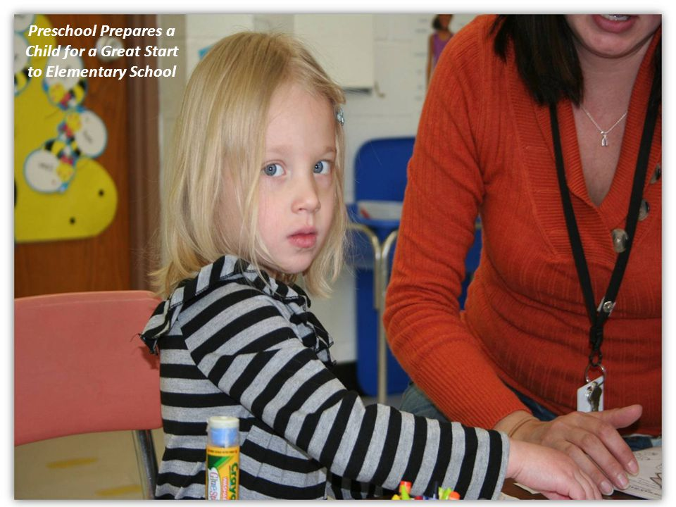 Preschool Prepares a Child for a Great Start to Elementary School