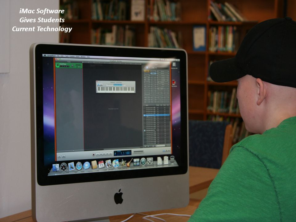 iMac Software Gives Students Current Technology