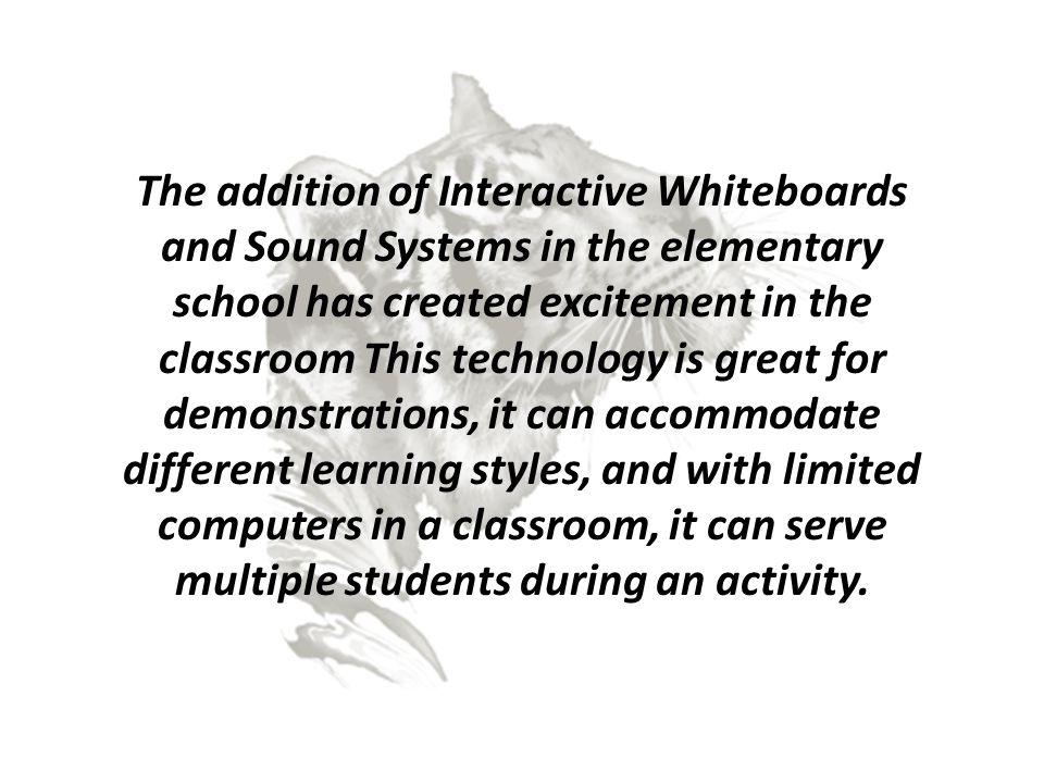 Interactive White Board and Sound Systems