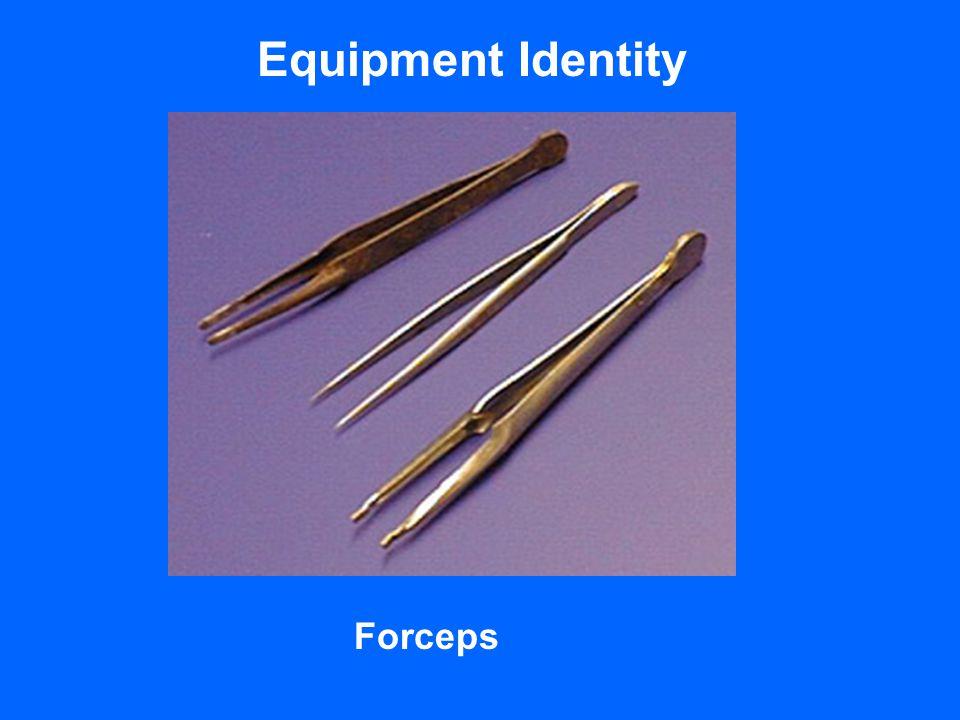 Equipment Identity Forceps
